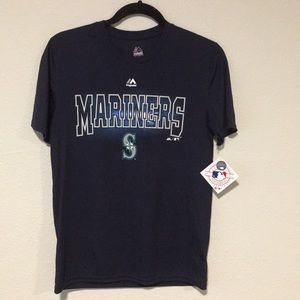 Seattle Mariners Majestic Coolbase Tee